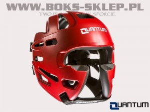 Kask sparingowy - QUANTUM Extreme Protection Red